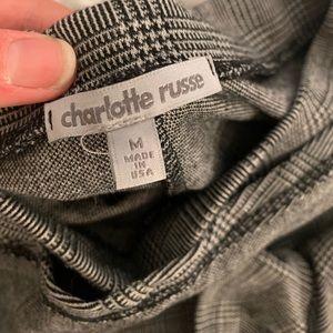 Charlotte Russe Skirts - Plaid Skort